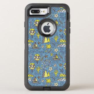 Travel Fun OtterBox Defender iPhone 8 Plus/7 Plus Case