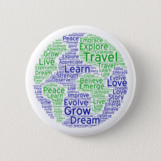 Travel Globe Pin