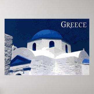 Travel Greece Poster