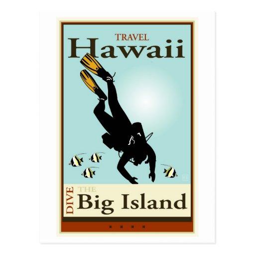 Travel Hawaii Post Card