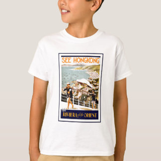 Travel Hong Kong Riviera Of The Orient T-Shirt