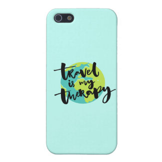 Travel is my Therapy iPhone 5/5S Cover