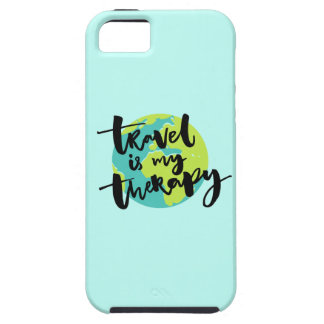 Travel is my Therapy iPhone 5 Case
