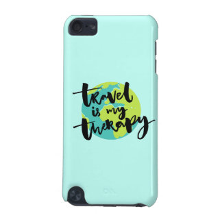 Travel is my Therapy iPod Touch (5th Generation) Cover