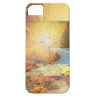 Travel Light Vibrant Gold iPhone 5 Cover