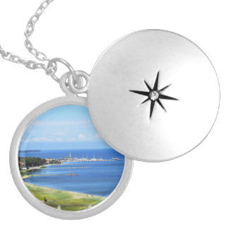 Travel Lithuania - Nida Locket Necklace