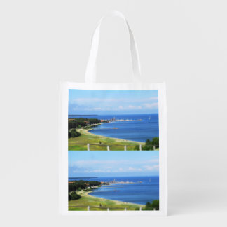 Travel Lithuania - Nida Reusable Grocery Bag