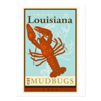 Travel Louisiana Postcard