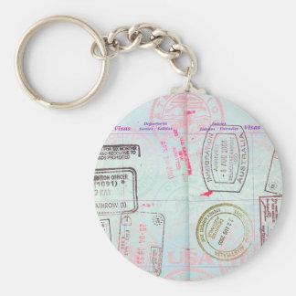 TRAVEL LOVER TRAVELLING PASS, TRAVELLER PASSPORT KEY RING