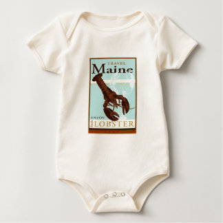 Travel Maine Baby Bodysuit
