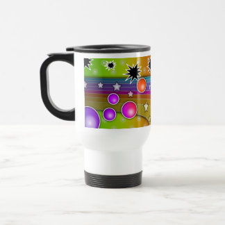 Travel Mug - BIG BANG BLACK HOLES POP ART