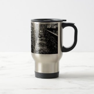 Travel Mug - Brick & Ivy Scene - Any Color