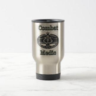 Travel Mug Coffee Army Combat Medic CMB