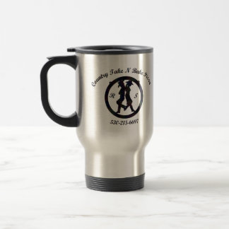 Travel Mug, Country Take N Bake Pizza Logo Travel Mug