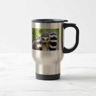 Travel Mug - Cute Lemur Stripey Tail