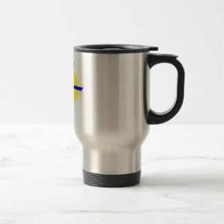 Travel Mug, DMR Logo w/ text Travel Mug