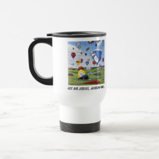 Travel Mug - Hot Air Jubilee - Jackson, Michigan