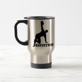 Travel Mug KSV Fitness Double Logo