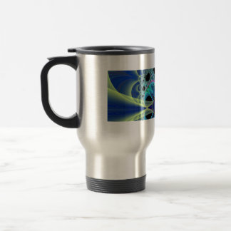 "Travel Mug: ""Light Rays"" Stainless Steel Travel Mug"