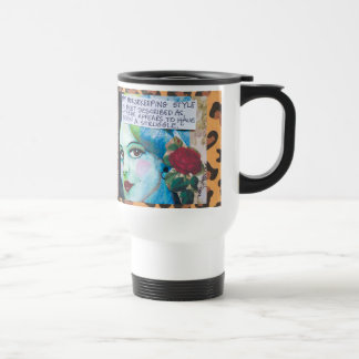 TRAVEL MUG- MY HOUSEKEEPING STYLE IS BEST TRAVEL MUG