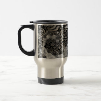 "Travel Mug, ""Storm"" Fractal Art"
