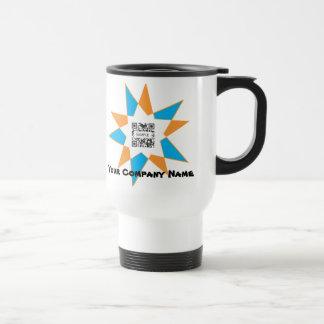 Travel Mug Template Starburst