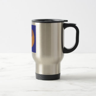 Travel mug with A Baby Moon Company Log