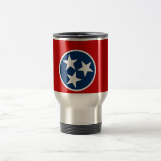 Travel Mug with Flag of Tennessee State - USA