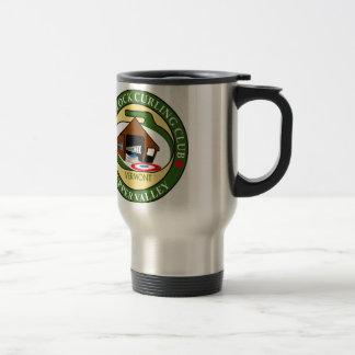 Travel mug, Woodstock Curling Club logo Travel Mug