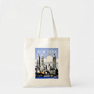 Travel New York America Vintage Tote Bag