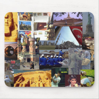Travel Notes Mouse Pad