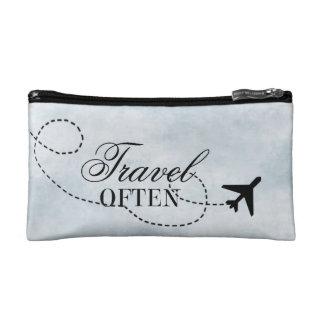 Travel Often Cosmetic Bag