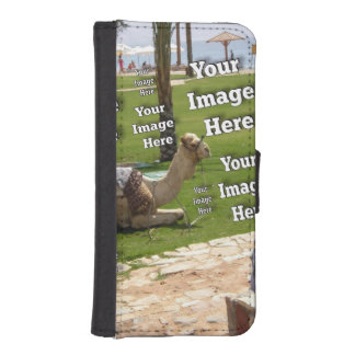 Travel Photo Template iPhone SE/5/5s Wallet Case