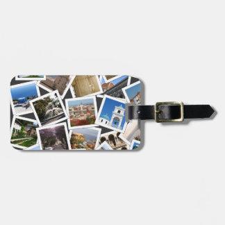 Travel Photos Luggage Tag
