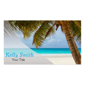 Travel Planner Agency Pack Of Standard Business Cards