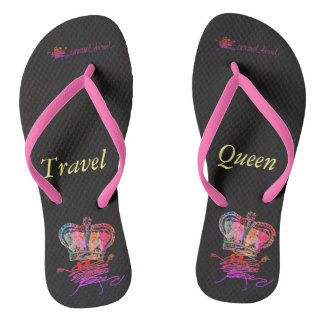 Travel Queen Thongs