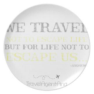 Travel Quote Plates