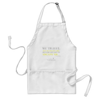 Travel Quote Standard Apron