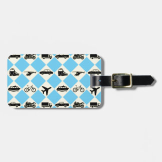 Travel Ride Luggage Tag