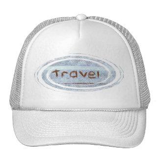 Travel rustic blue bohemian cap
