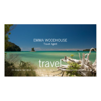 Travel - South Sea Business Card