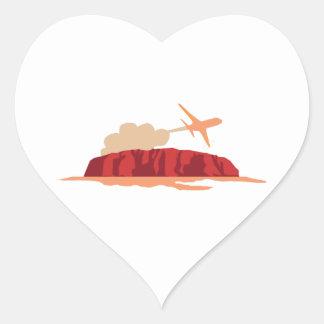 Travel Heart Sticker