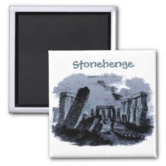 Travel |Stonehenge Portrait Custom Text Fridge Magnet