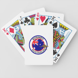 TRAVEL SYDNEY AUSTRALIA DECK OF CARDS