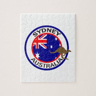 TRAVEL SYDNEY AUSTRALIA JIGSAW PUZZLES