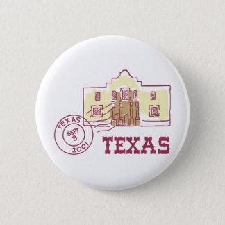 Travel Texas 6 Cm Round Badge