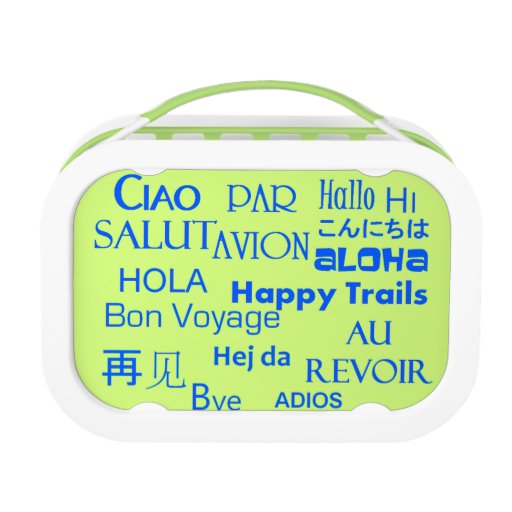 Travel Texts Lunch Box
