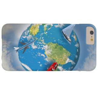 Travel the World Barely There iPhone 6 Plus Case