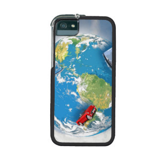 Travel the World Case For iPhone 5/5S