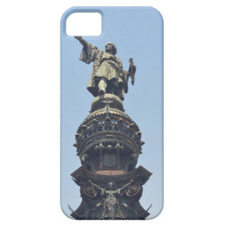 Travel the World - Columbus Pointing out to Sea Barely There iPhone 5 Case